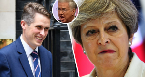 Williamson Fallon May Tories on brink of all-out mutiny as new Defence Secretary pick sparks fury amongst MPs