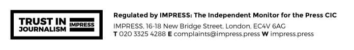 IMPRESS | Trust In Journalism