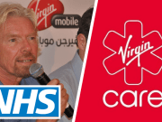 Richard Branson Virgin Care NHS Sue Petition