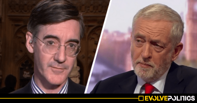 WATCH: Jacob Rees-Mogg just brazenly LIED about Jeremy