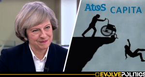 "Tory DWP Assessors are asking people with Down's Syndrome when they ""caught it"""