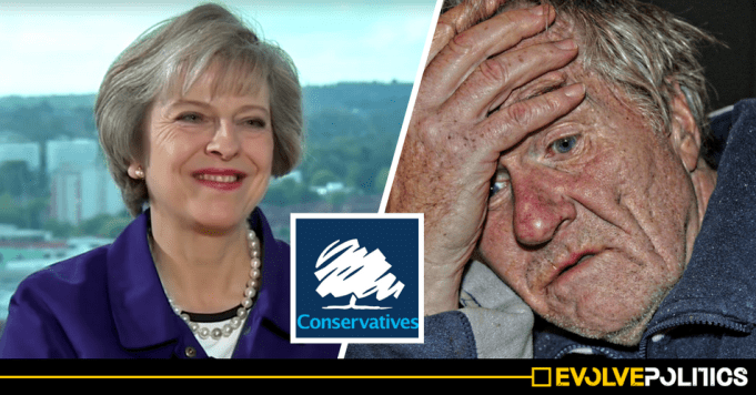 Tories oversee 272% rise in removing essential home care funding for Alzheimers and Parkinson's sufferers