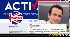 Tory Youth Movement Activate slammed after posting tweet mocking poor people freezing to death