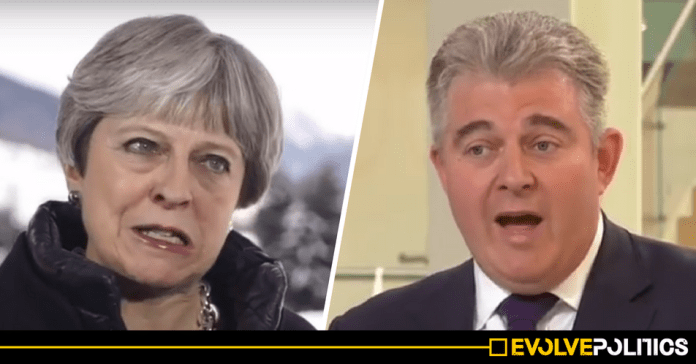 Vote of No Confidence imminent as Senior Tory May-loyalist now says
