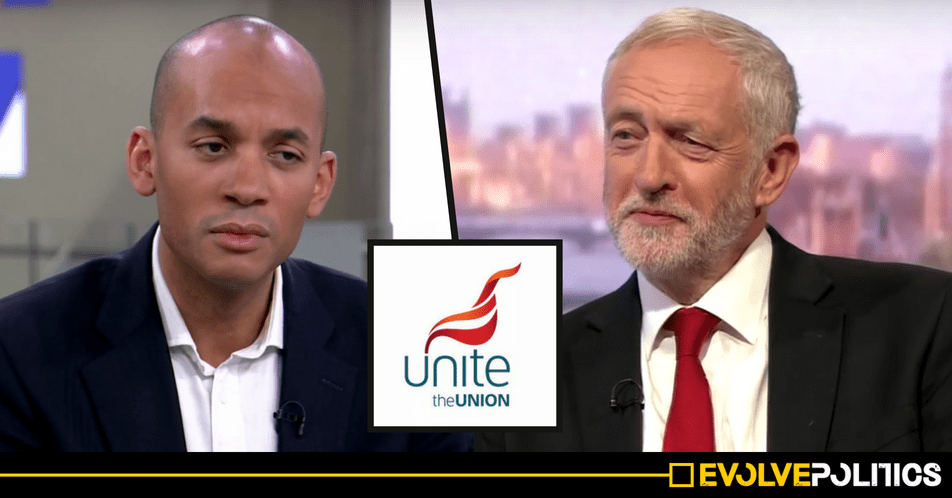 Anti-Corbyn Labour MPs in peril as UK's biggest Trade Union 'backs Mandatory Reselection vote' at 2018 Labour Conference