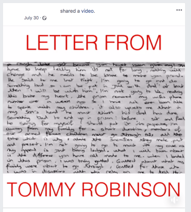 Syrian Refugee Attack - Tommy Robinson Post 1