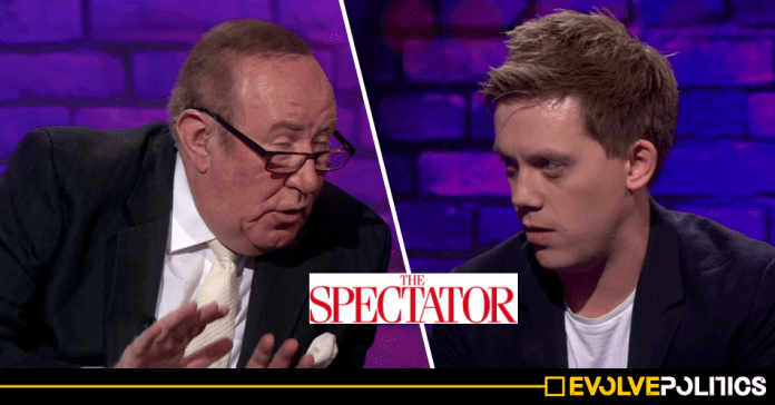 WATCH: Owen Jones shames Andrew Neil live on the BBC over his magazine's support for far-right racism [VIDEO]
