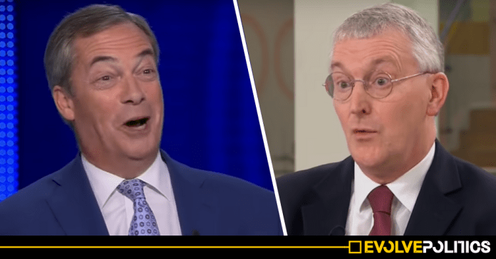 Nigel Farage roundly ridiculed after coming out in favour of