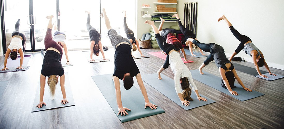 These 16 Unique Yoga Classes Let You Try Some Far-Out