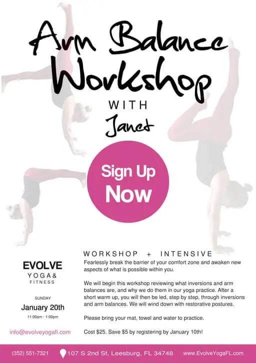 Yoga workshops in Leesburg, FL