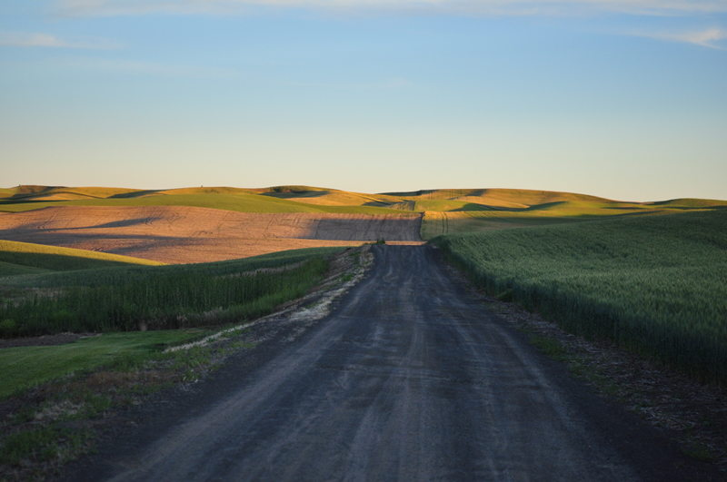 Rolling hills of the Palouse, one of our my destinations we've seen while living in our RV full time traveling the country.
