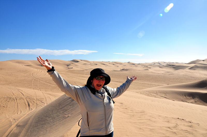 Today we check out the Imperial Sand Dunes in California and they are beautiful.