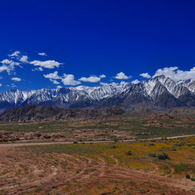 Grand Canyon, Sierra Nevada Mountains, Owens Lake, and the Environment