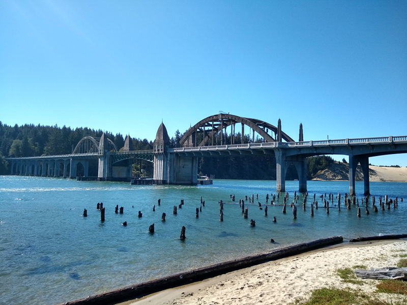 Cool old bridge in Florence, OR.