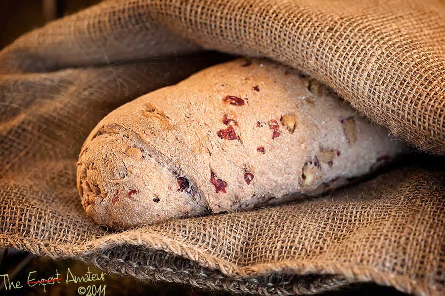 Cranberry Walnut Rye Bread