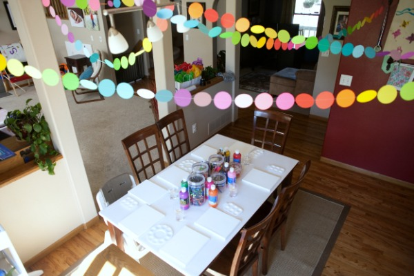 Madeline's Art Themed Birthday Party