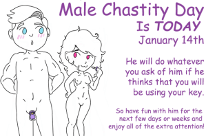 Male Chastity Day