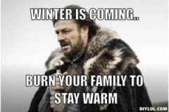 winter-is-coming-meme-generator-winter-is-coming-burn-your-family-to-stay-warm-834af3