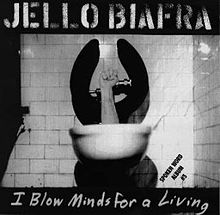 FIG. 12. I saw Jello Biafra speak at Indiana University when I was a college freshman, and he quite literally blew my mind.
