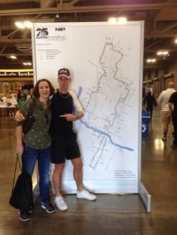 Marathon & Half Marathon Map... brrr...