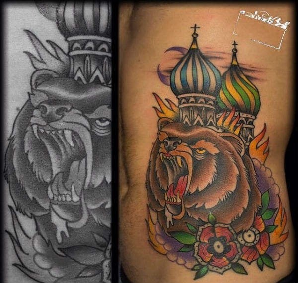 Russian Dome Tattoo