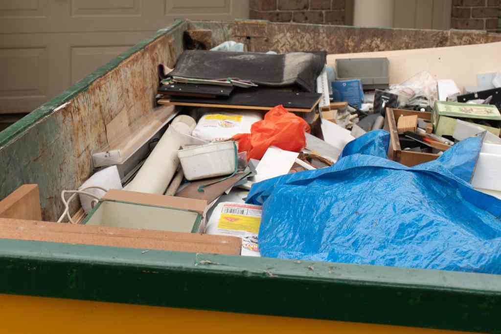As mentioned above, bulky waste, also known as junk or bulky rubbish