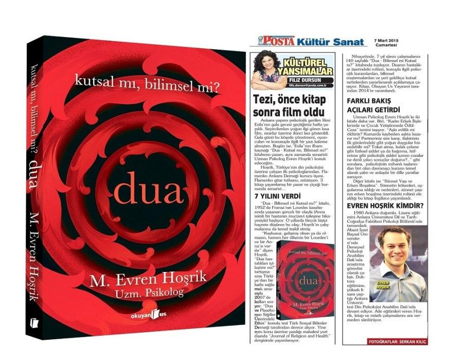 "Posta Gazetesi ""Dua"": Kitap Haber"