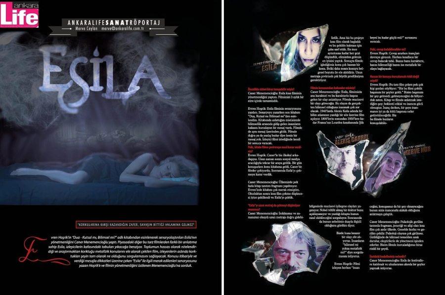 ESİLA: Ankara Life Dergisi Röportajımız