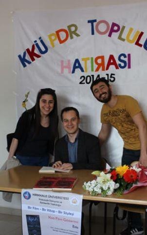Kırıkkale Üniversitesi İmza Günü ve Esila Film Gösterimi (6)