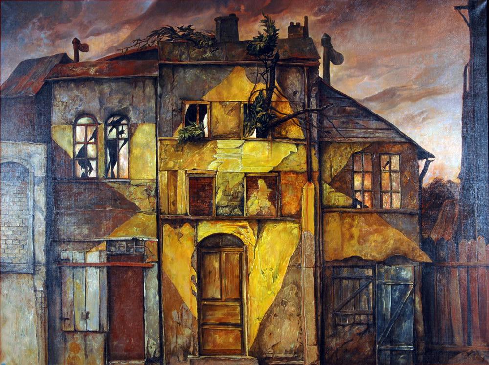 samuel bak 001 Холокост в еврейских картинах Самуила Бака (Samuel Bak)