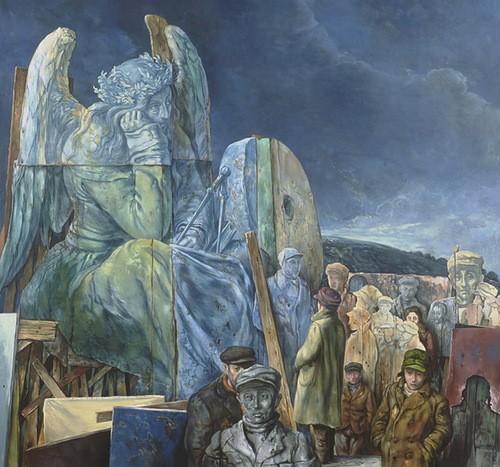 samuel bak 013 Холокост в еврейских картинах Самуила Бака (Samuel Bak)