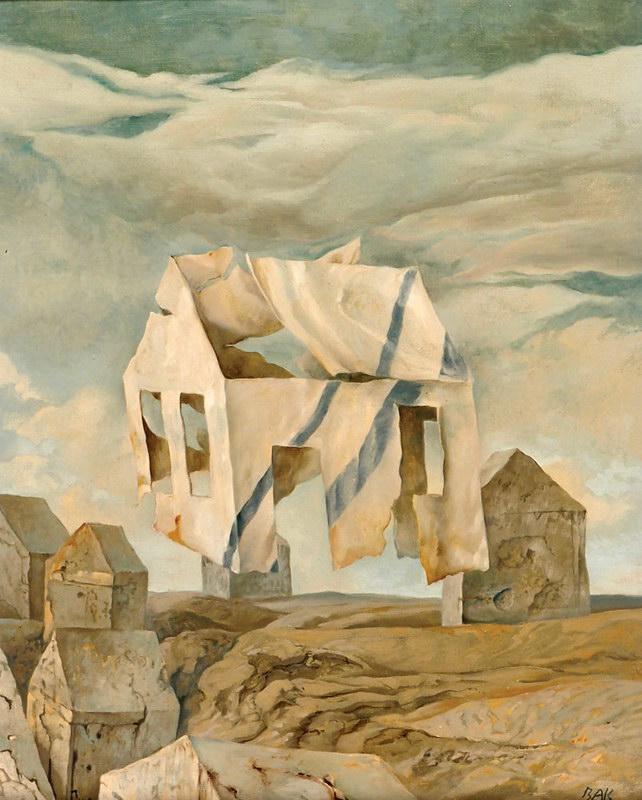 samuel bak 019 Холокост в еврейских картинах Самуила Бака (Samuel Bak)