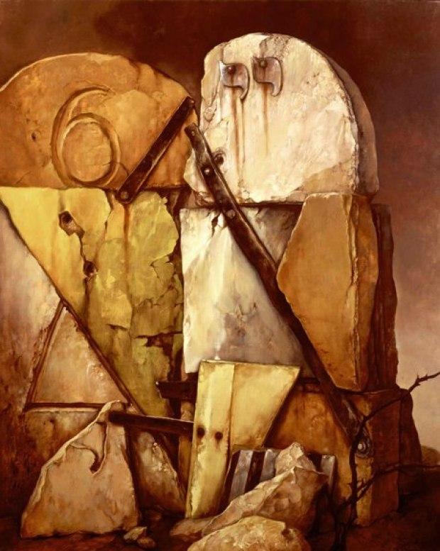 samuel bak 026 Холокост в еврейских картинах Самуила Бака (Samuel Bak)