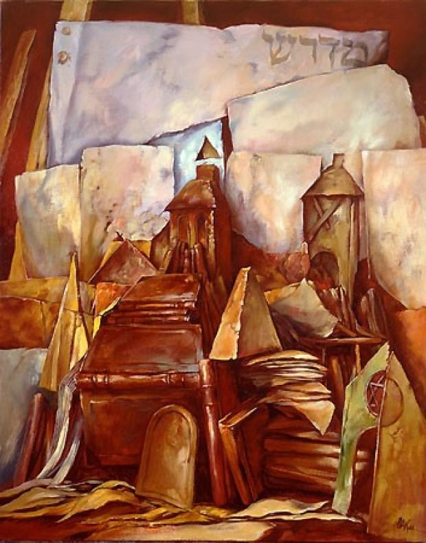 samuel bak 031 Холокост в еврейских картинах Самуила Бака (Samuel Bak)