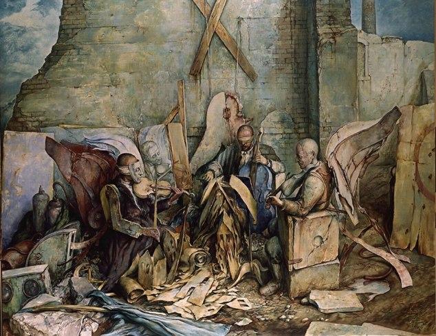 samuel bak 038 Холокост в еврейских картинах Самуила Бака (Samuel Bak)