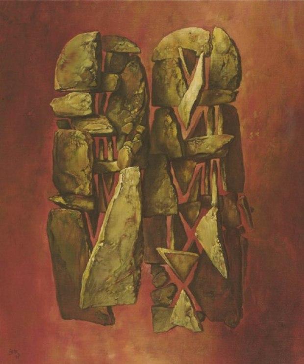 samuel bak 041 Холокост в еврейских картинах Самуила Бака (Samuel Bak)