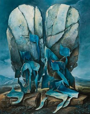 samuel bak 048 Холокост в еврейских картинах Самуила Бака (Samuel Bak)