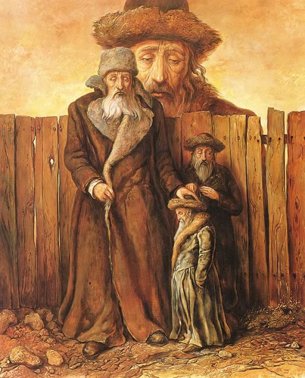 samuel bak 053 Холокост в еврейских картинах Самуила Бака (Samuel Bak)