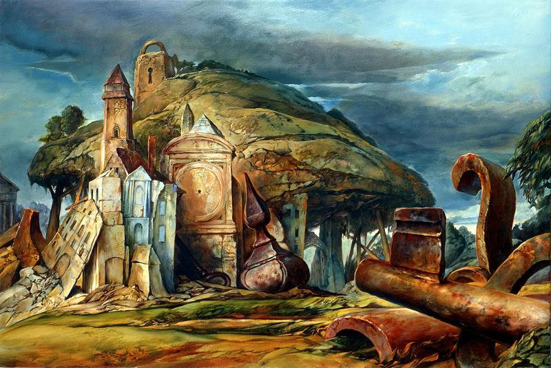 samuel bak 059 Холокост в еврейских картинах Самуила Бака (Samuel Bak)