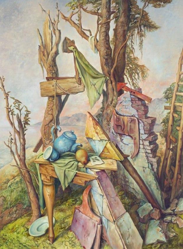samuel bak 062 Холокост в еврейских картинах Самуила Бака (Samuel Bak)