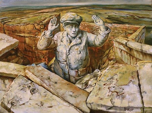samuel bak 067 Холокост в еврейских картинах Самуила Бака (Samuel Bak)