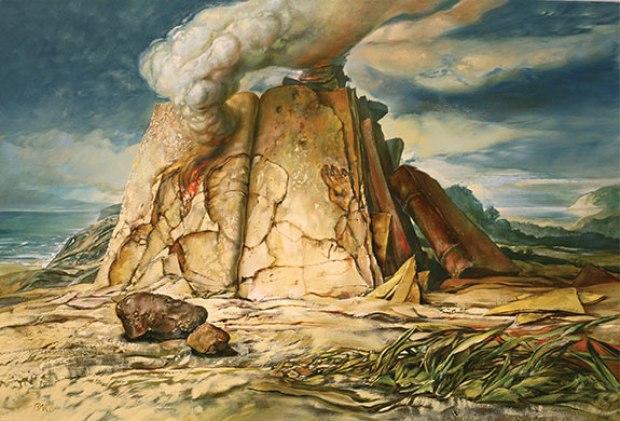 samuel bak 071 Холокост в еврейских картинах Самуила Бака (Samuel Bak)