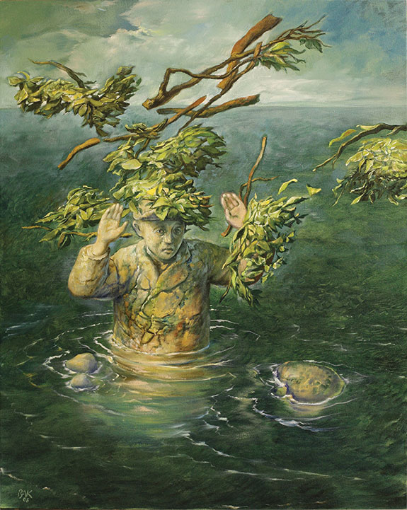 samuel bak 073 Холокост в еврейских картинах Самуила Бака (Samuel Bak)
