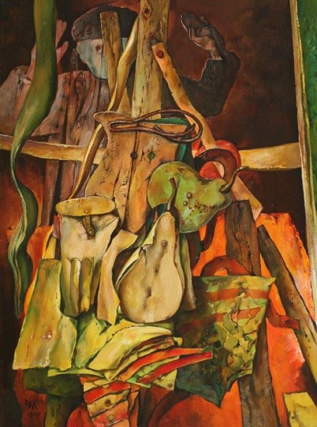 samuel bak 076 Холокост в еврейских картинах Самуила Бака (Samuel Bak)