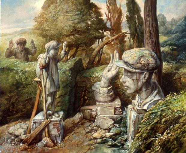 samuel bak 084 Холокост в еврейских картинах Самуила Бака (Samuel Bak)