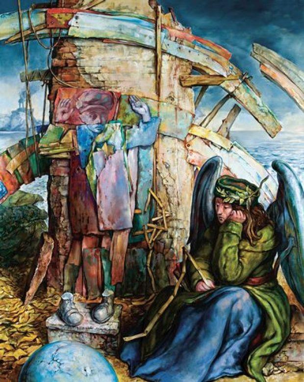 samuel bak 092 Холокост в еврейских картинах Самуила Бака (Samuel Bak)