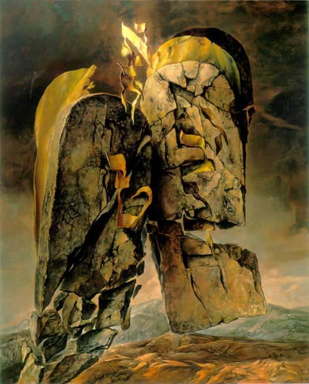 samuel bak 093 Холокост в еврейских картинах Самуила Бака (Samuel Bak)