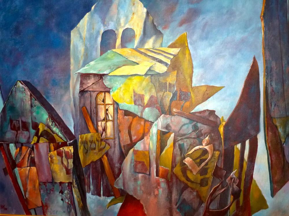 samuel bak 094 Холокост в еврейских картинах Самуила Бака (Samuel Bak)