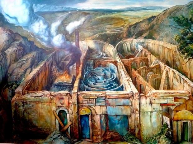 samuel bak 096 Холокост в еврейских картинах Самуила Бака (Samuel Bak)