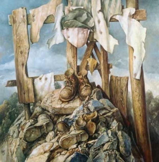 samuel bak 103 Холокост в еврейских картинах Самуила Бака (Samuel Bak)